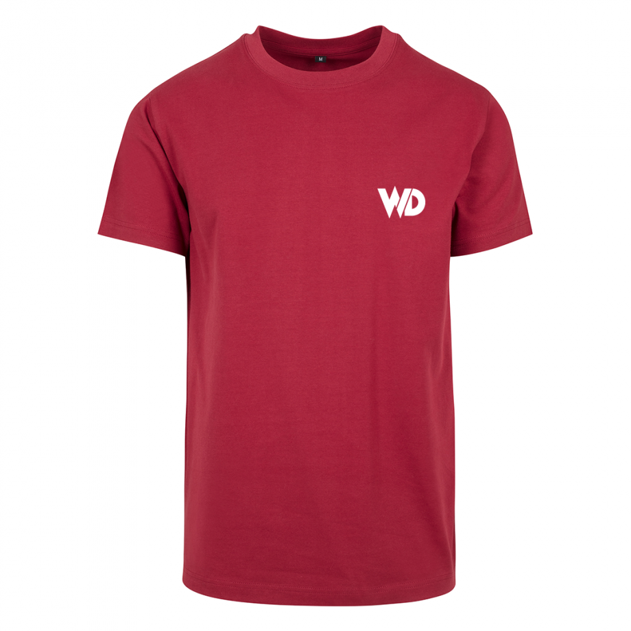 T-shirt-WD-wit-op-rood.png